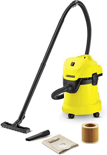 Karcher 1.629-806.0 WD 3 AE 17l Wet and Dry Vacuum Clearner Yellow