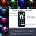 Spriak Led Party lights 2nd Generation Strobe Dance Light 3w Disco ball DJ Lights