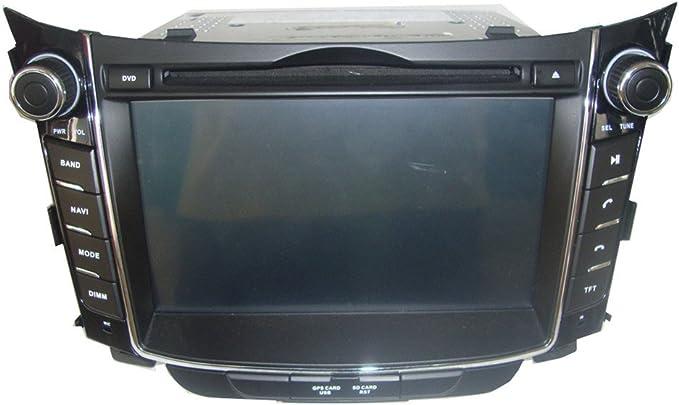 Generic7 Inch Car Dvd Player For Hyundai I30 2012 2013 2014 New With Gps Navigation Mobile Multimedia Elektronik