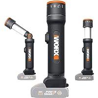 WORX WX027.9 – LED zaklamp 4 functies 20 V S/bat
