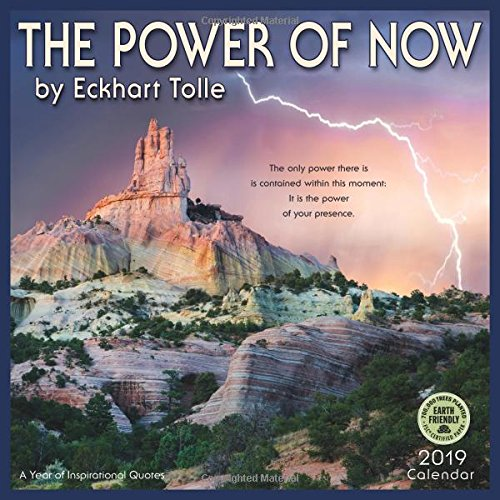 The Power Of Now 60 Wall Calendar A Year Of Inspirational Quotes New The Power Of Now Quotes