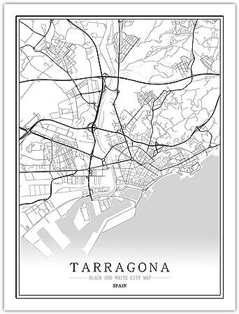Rompecabezas Para Adultos 1000 Piezas,Mapa De La Ciudad De Tarragona En España, Juegos De Bricolaje Personalizados, Rompecabezas 3D De Arte Grande, Rompecabezas De Lógica Intelectual Educativa, Reg: Amazon.es: Hogar