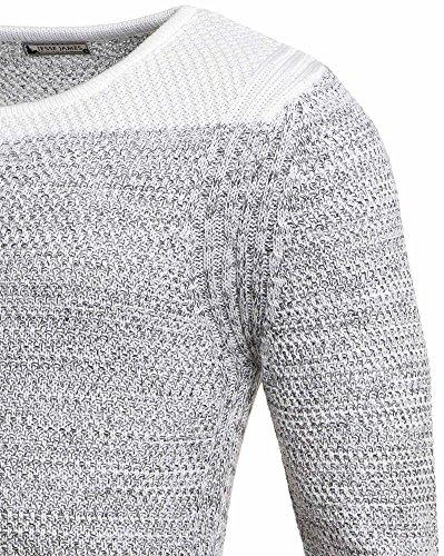BLZ Jeans - Vaquero - Manga Larga - para hombre blanco