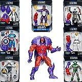 Marvel Legends Series Captain America Red Onslaught BAF- Set of Seven 6' Action Figures