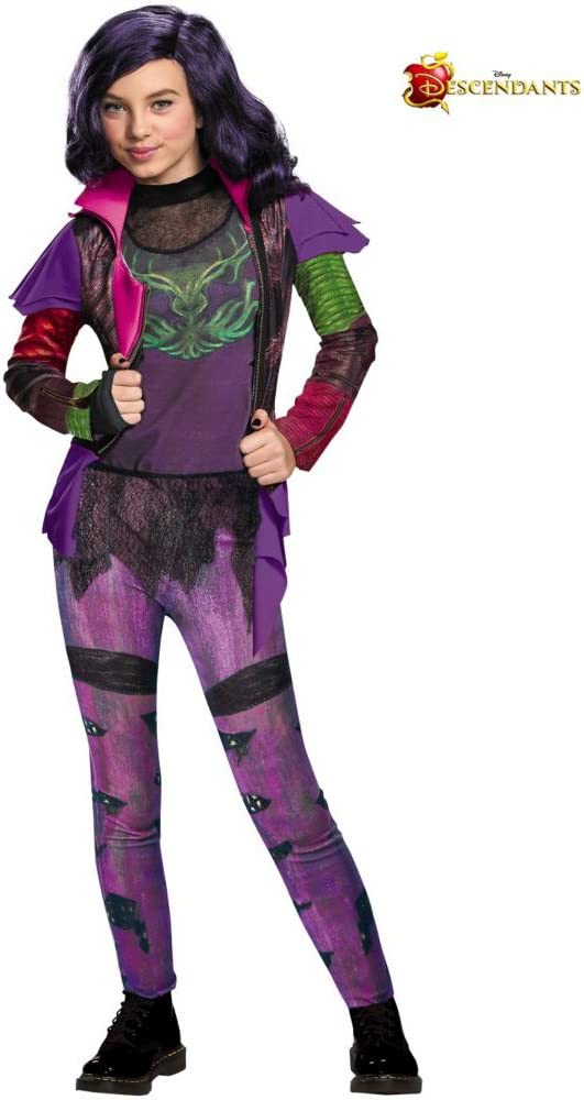 Rubies Mal Deluxe - Descendientes de Disney - Disfraz Infantil ...