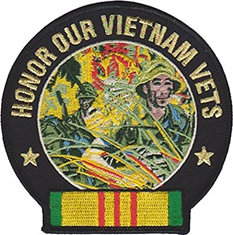 Honor Our Vietnam Vets Marine Patch - Military Vet Patch