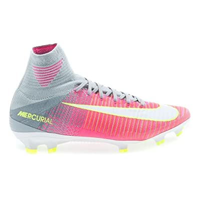 360f397f2 Nike Womens Mercurial Superfly V FG Acc 844226 610 Womens Sz 11.5 Pink