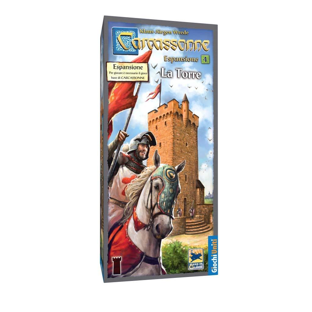 Giochi Uniti Carcassonne 5 La Torre - Juego de Mesa (versión en ...