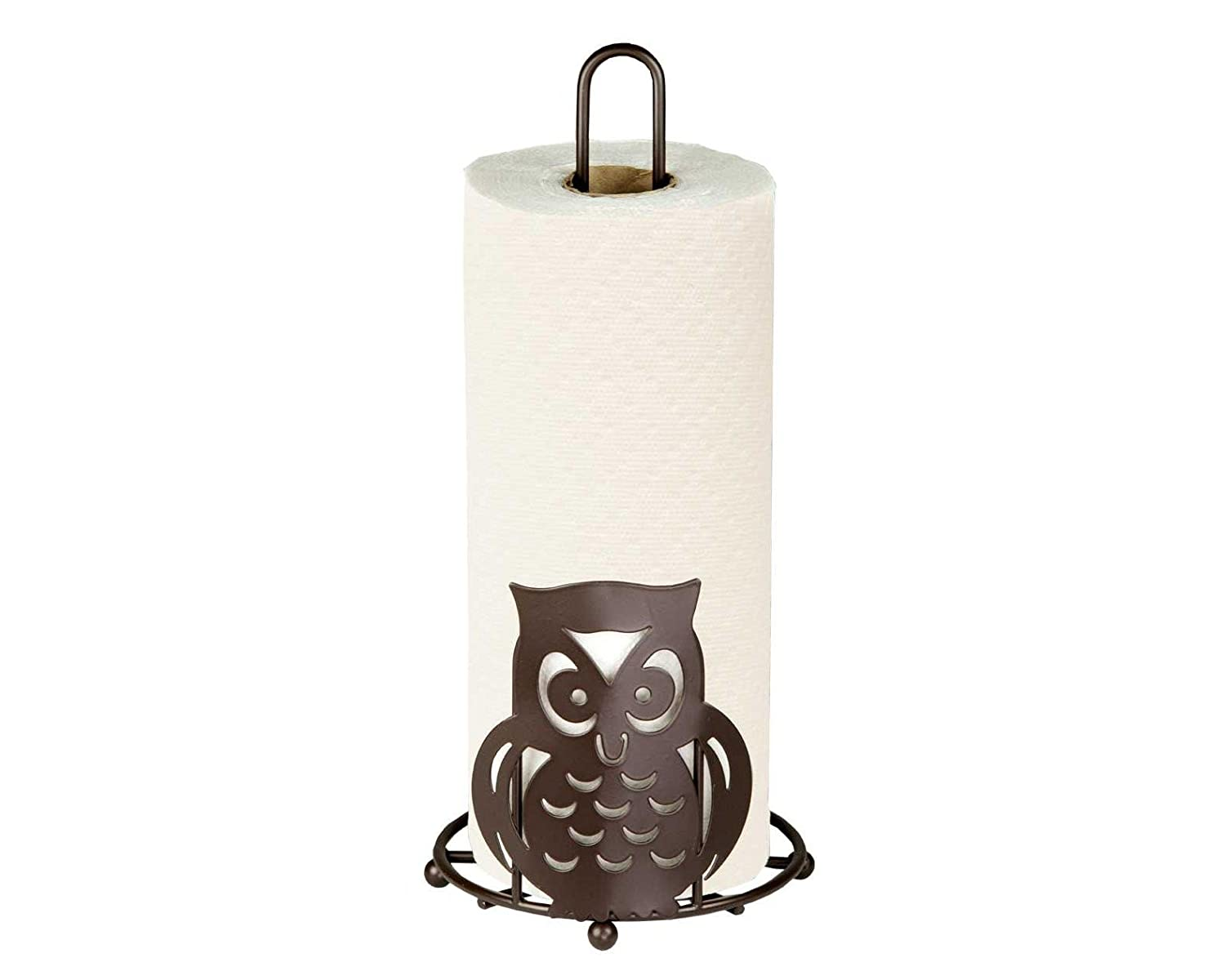 Home Basics Owl Paper Towel Holder, Bronze HDS Trading Corp. PH01781