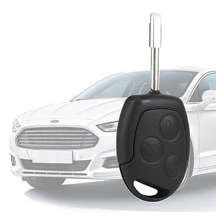 Carcasa Llave 3 Boton para Ford Mondeo Fiesta Focus KA ...