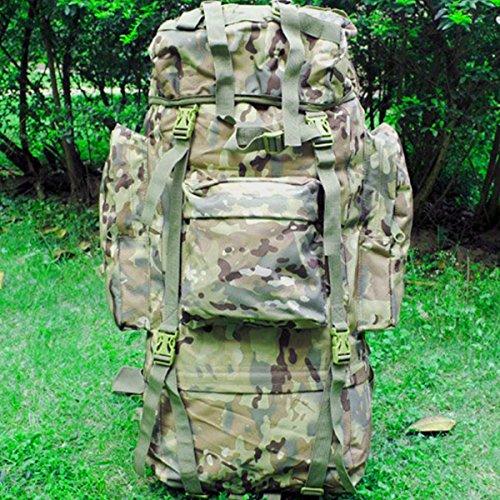 Frame Travel Hiking Trekking Camping Hunting Backpack Rucksack Bag K016