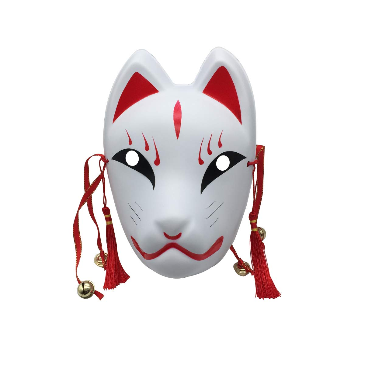 YangYong Fox Cosplay Mask for Masquerade Halloween Japanese Kitsune Kabuk