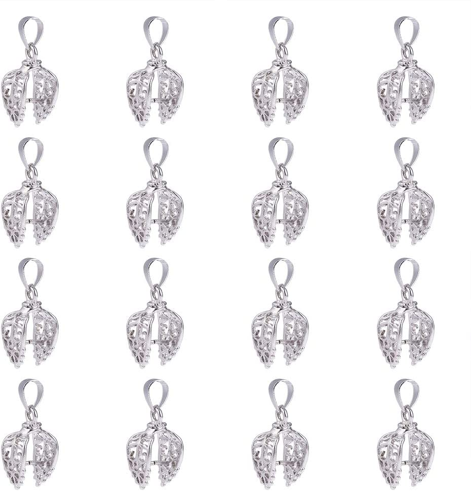 50 Bails Charms Connector Holder Stopper Clasps Fit Crafts Jewelery Makings