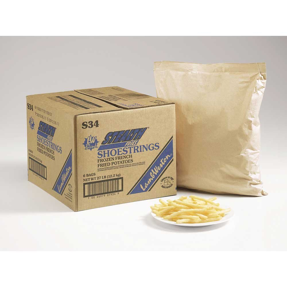 Lamb Weston Stealth Shoestring French Fry, 4.5 Pound -- 6 per case.