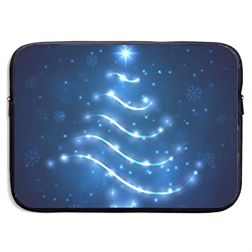 ae4c59c6b709 Amazon.com: VEGAS Christmas Tree Light Laptop Sleeve Case Bag ...