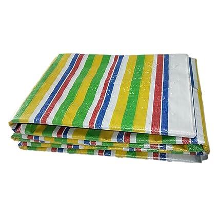 LXF Tira De Color De Lona Gruesa Tela De Tres Colores De Polietileno Impermeable A Prueba