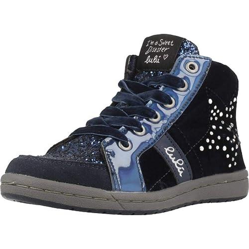 Zapatillas para niña, Color Azul, Marca Lulu, Modelo Zapatillas para Niña Lulu Elda Azul: Amazon.es: Zapatos y complementos