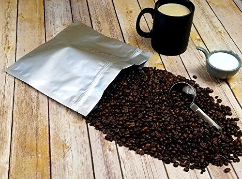 (50) 1.5 Quart Odor-Proof 5 Mil Ziplock Genuine Aluminum Foil Mylar Bags for Herb, Seed, Food and Organics Storage (10