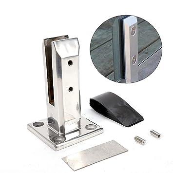 YUNRUX - Pinza de cristal para soporte de cristal de acero ...