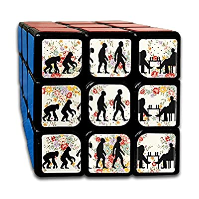 Evolution Of Man Chess Hot Sale 3x3 Cube Hands Toy Bearing Toy Decompression Gyro And Autism Adults & Children For Killing Time Or Relaxation
