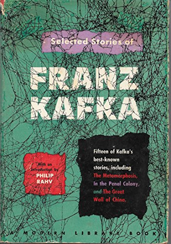 Selected Short Stories of Franz Kafka (The Modern library of the world