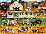 Buffalo Games Charles Wysocki - Storin' Up - 1000 Piece Jigsaw Puzzle
