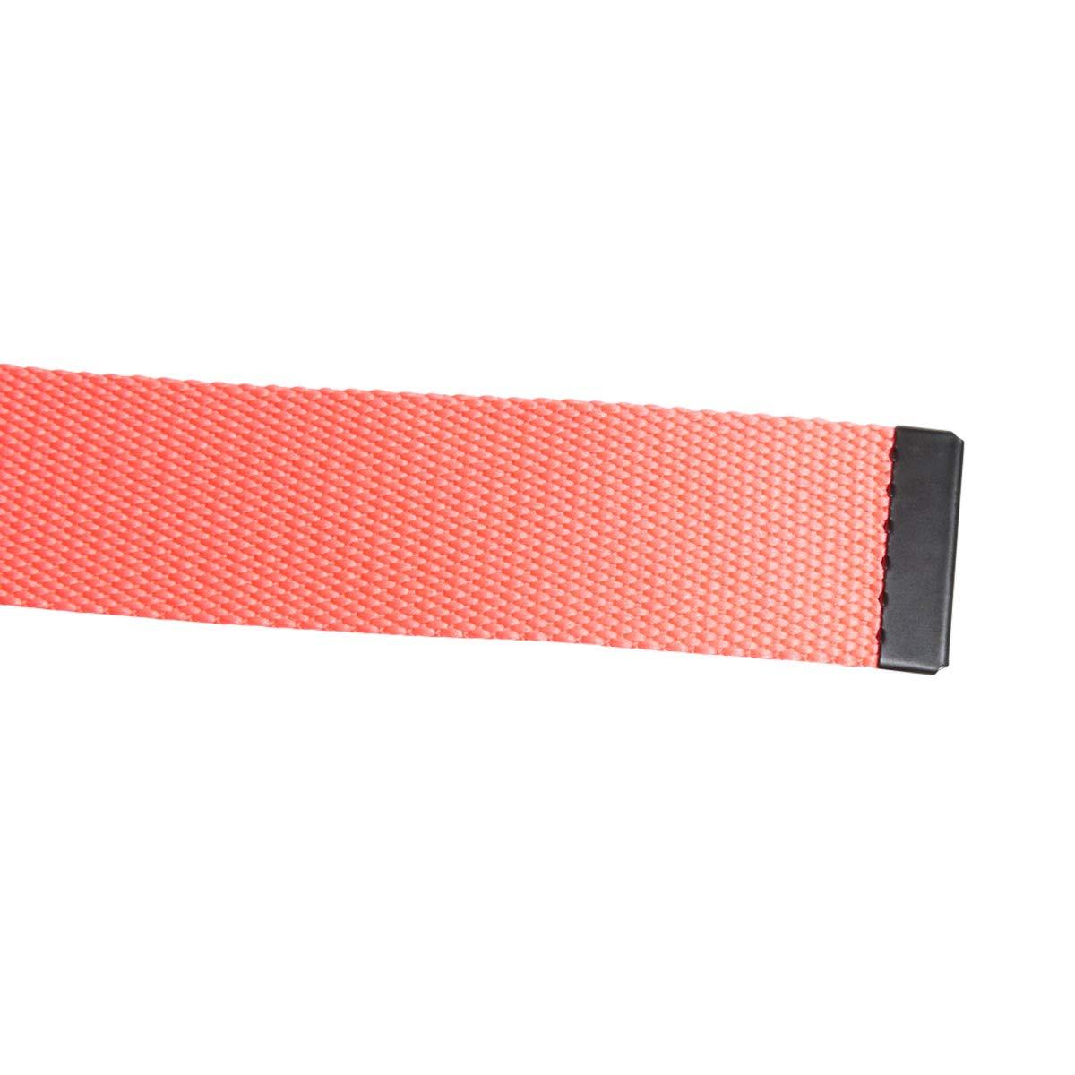 af8b10a425f2 adidas Golf 2019 Mens Lightweight Metal Buckle Clamp 3 Stripe Webbing Belt