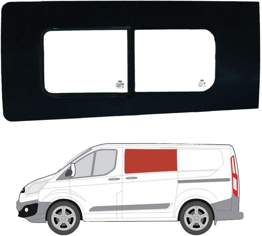 Mano izquierda ventana de apertura transparente para puerta corredera Ford Transit Custom: Amazon.es: Coche y moto