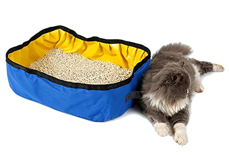 Caja de Arena para Gatos, Legendog Kitty Caja de Arena para Perros Pet Foldable Outdoor