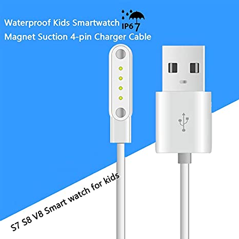 Amazon.com: BowJet Smartwatch 4-pin USB Magnet Suction ...
