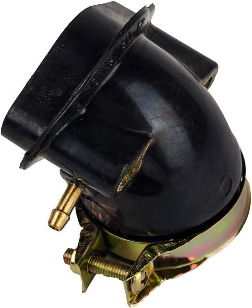oxoxo ersetzen Air Filter Reiniger 38/mm mit Ansaugstutzen f/ür GY6/125/cc 150/cc gel/ändefahrzeugen Dirt Bikes Go-Karts Roller Kazuma-ROKETA Redcat yerfdog SunL