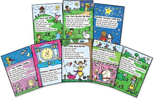 Carson Dellosa Four Blocks Nursery Rhymes: Kid-Drawn Bulletin Board Set (3283)