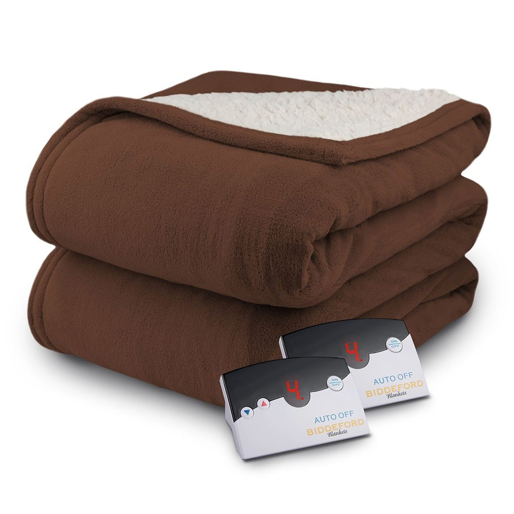 Biddeford MicroPlush Sherpa: The hottest electric blanket on the market