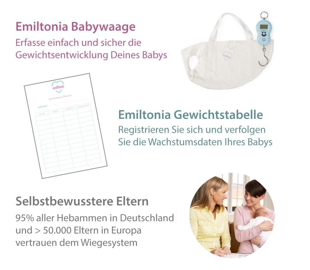 b/ásculas para reci/én nacidos y beb/és Blanco, primer juego Balanza para beb/és de Emiltonia Pese como la comadrona
