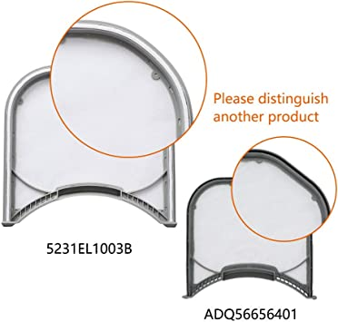 Lint Screen for LG Dryer ADQ56656401