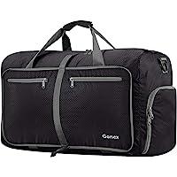 Gonex 60L Foldable Travel Duffel Bag Water & Tear Resistant 10 Color Choices
