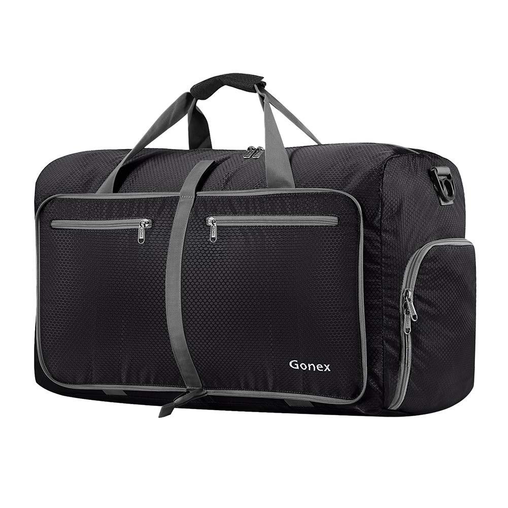 Gonex 60L Foldable Travel Duffel Bag Water   Tear Resistant 10 Color Choices 603ecf1f5a90a