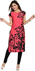 Unifiedclothes Women Fashion Fancy Indian Kurti Tunic Kurta Top Shirt Dress SC2409