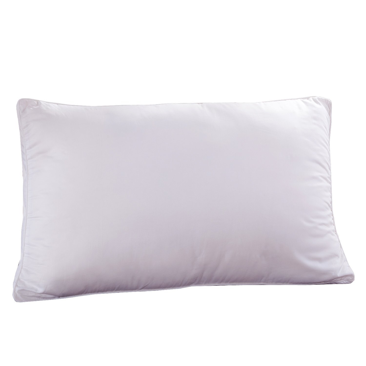 OROSE Silk Filled Pillows With 100% Natural Cotton Cover, Breathable & Fluffy (100%Silk, Standard)