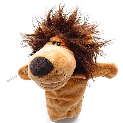 Humasol Zoo Animals Hand Puppet Glove for Kindergarten Children Infant Kids Toddler Lion : Baby