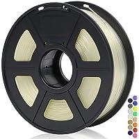 ANYCUBIC 3D Printer 1.75mm Filament PLA, 3D Printing PLA Filament 1KG Spool for 3D Printers & 3D Pens (Clear)