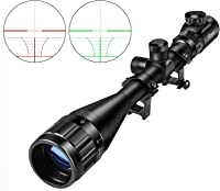 CVLIFE Hunting Rifle Scope 6-24x50 AOE Red and Green