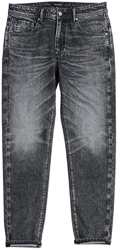 YODOKI Jeans Hombres Pantalones Mezclilla Classical Nostalgic ...
