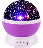 Viposoon Night Lights for Kids, 360 Degree Rotation Star Projector for Baby - Best Gifts