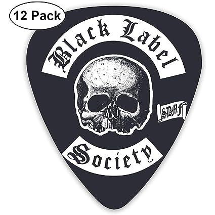 Púas de guitarra eléctrica Black Label Society (paquete de 12 ...