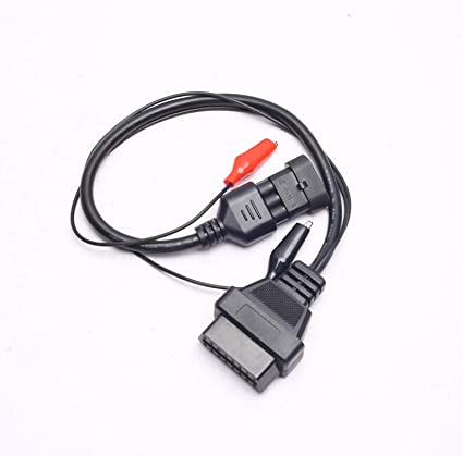 For Fiat Alfa Lancia 3 Pin to 16 Pin OBD2 Adapter Connector Diagnostic Cable US