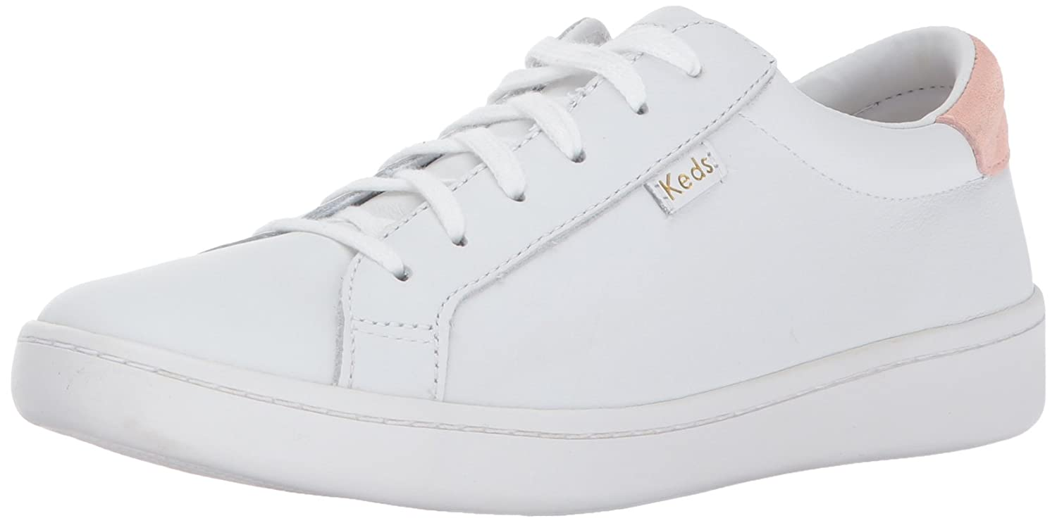 Keds Ace Core Leather - Zapatos Mujer 40 EU|Wei (White/Blush)