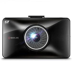 "INavi FXD990 3.5"" Full Touch LCD 2K 2ch 16GB Car Dash Cam Black Box"