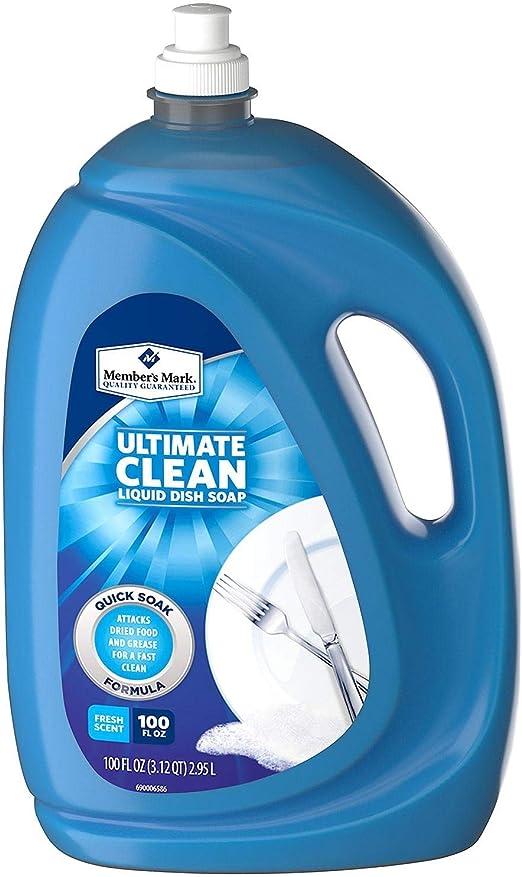 Jabón líquido para lavavajillas de la marca de los miembros (100 ...