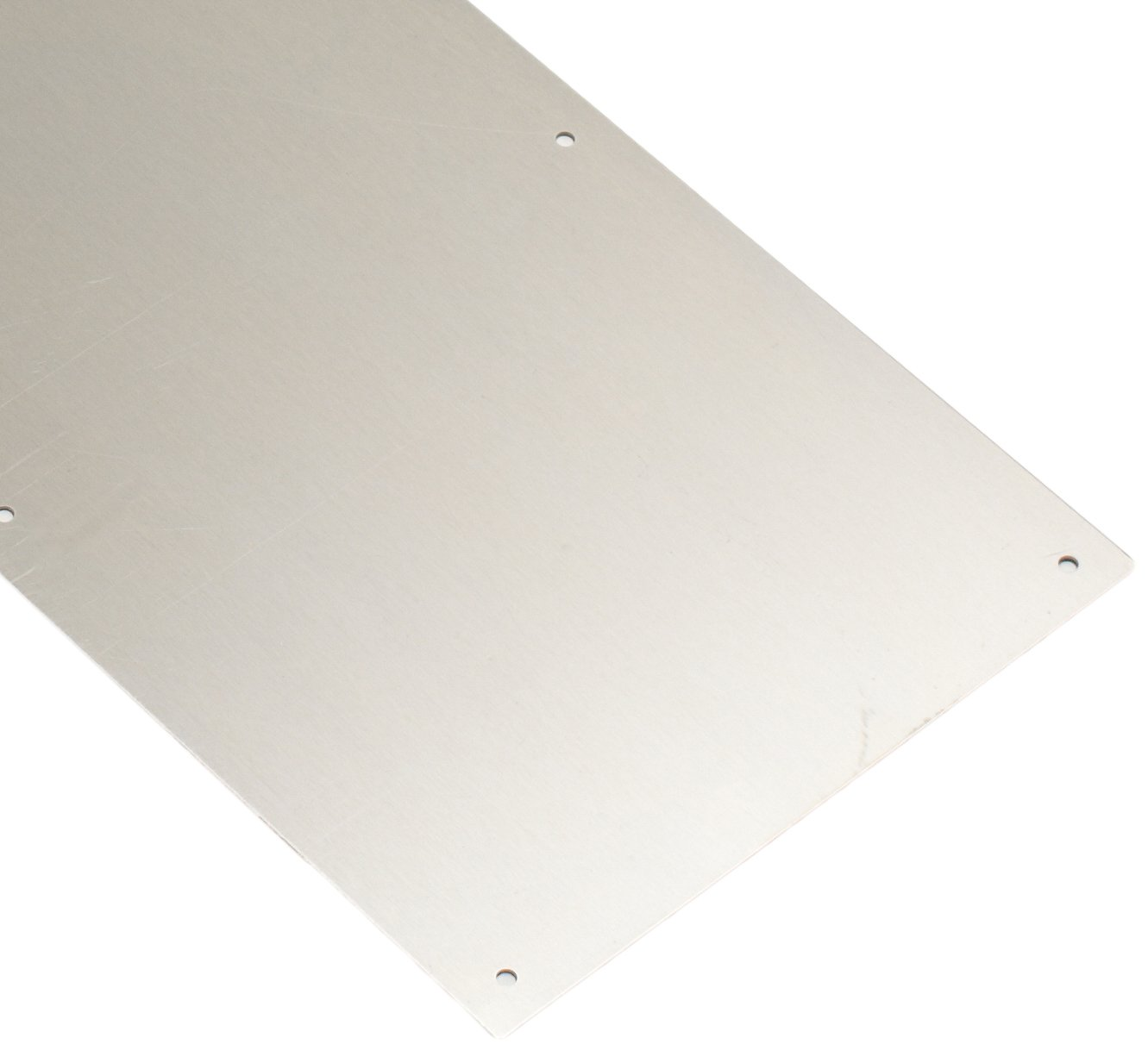 Hager 051954 190S 8'' X 34'' US32D Door Protection Plate 0.050'' Gauge without Bevel
